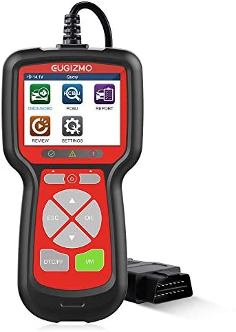 EUGIZMO OBD2 Scanner Universal Car Engine Fault Code Reader Diagnostic Scan Tool for All CAN product image