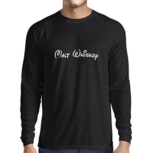 lepni.me Heren T-Shirt Malt Whiskey - Grappige Drinkcitaten, Cool Bar Zeggen