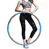 Xing Dong Sports Hula Hoop, Hula Hoop Reifen Die Zur Gewichtsreduktion, Hula Hoop für Erwachsene & Kinder zur Gewichtsabnahme und Massage, EIN 6-8-Teiliger Abnehmbarer Hula-Hoop-Reifen für Fitness