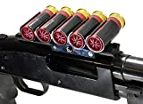 Mossberg 500 590 Side Saddle Shell Carrier Holders 6 Round With scope Mount Shells Carrier Hunting Accessory Holder 12 Gauge Tactical Shell Pouch Ammo Shell Round slug Carrier Reload single rail mount