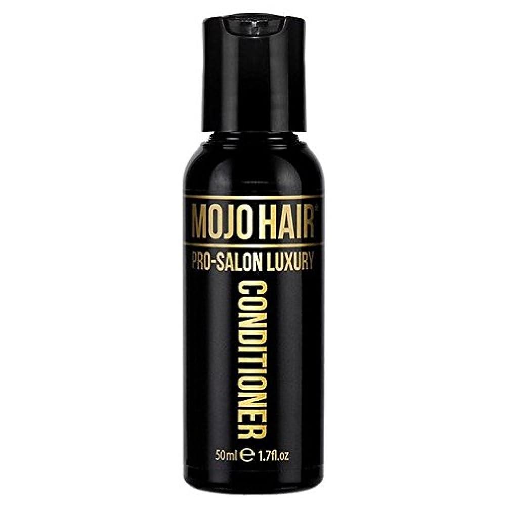 物理的な社員適性MOJO HAIR Pro-Salon Luxury Fragrance Conditioner for Men, Travel Size 50ml - 男性のためのモジョの毛プロのサロンの贅沢な香りコンディショナー、トラベルサイズの50ミリリットル [並行輸入品]