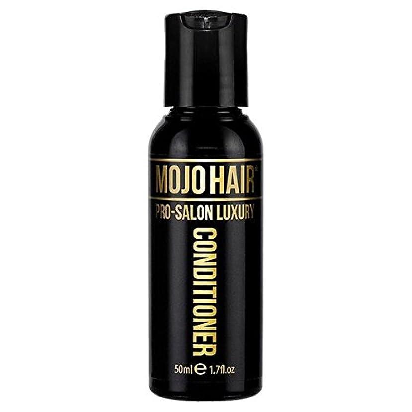 餌クレタ祝うMOJO HAIR Pro-Salon Luxury Fragrance Conditioner for Men, Travel Size 50ml (Pack of 6) - 男性のためのモジョの毛プロのサロンの贅沢な香りコンディショナー、トラベルサイズの50ミリリットル x6 [並行輸入品]