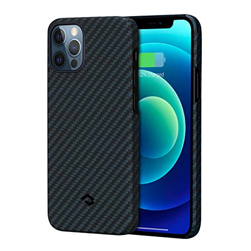 pitaka MagEZ Case, ultradünn, magnetische Hülle für iPhone 12 Pro(6,1