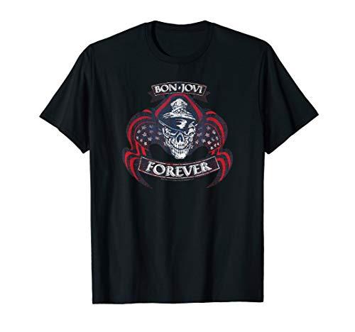 Bon Jovi Forever Skull T-Shirt