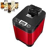 Máquina de pan rápido inteligente del hogar de DIY Máquina de hacer pan completamente automática táctil LCD 13 Desayuno pantalla del controlador 18 Horas Tiempo Spit Menús 13 450w cita multifunción KN