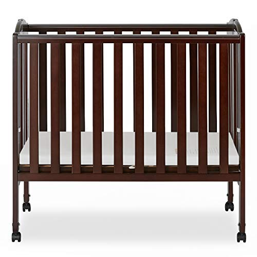 Portable Folding Stationary Side Crib $105.80 Reg.$284.99(63% Off)