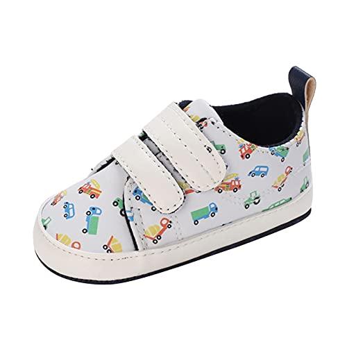 YWLINK ReciéN Nacido Bebe Zapatos Cuero Artificial Zapatillas Suela Blanda Antideslizante Primeros Pasos Transpirable Ligero Cierre De Cinta MáGica Zapatillas Deportivas Outdoor