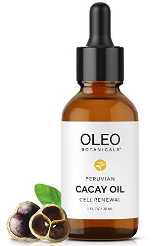 Oleo Botanicals 100% Pure Cacay Oil (Kahai) - Certified Organic - Cell Renewal - Anti-Aging Dry Oil - Powerful Antioxidants - Vitamin A, E & F - 30ml