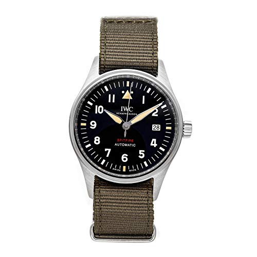 IWC Spitfire Mechanical (Automatic) Black Dial Mens Watch IW3268-01 (Certified Pre-Owned)