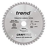 Trend CSB/AP16548 Craft Pro Worktop, Aluminium and Plastic TCT Blade...