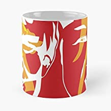 Trump Kim Jong Un Funny Floral Coffee Mugs Gifts