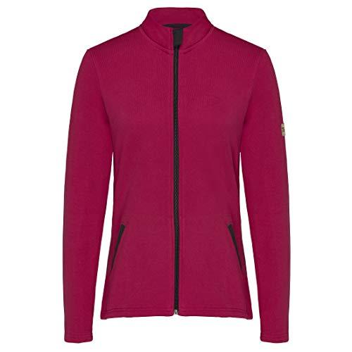 TAO Sportswear Damen Freizeitjacke aus Bio-Baumwolle DORI Tango 38