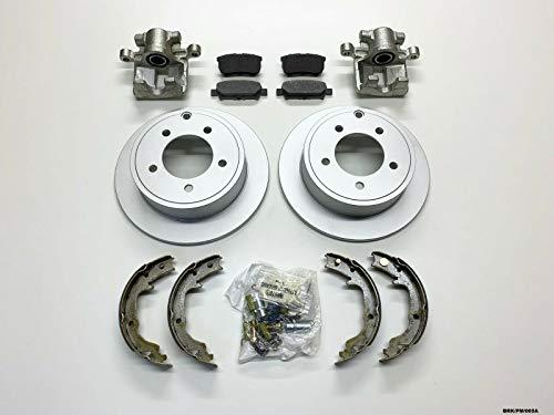 Carlson kit de réparation de freins arrière Grand Calibre PM 2007–2012/Avenger 2007–2014 Disques 262 mm Diamètre