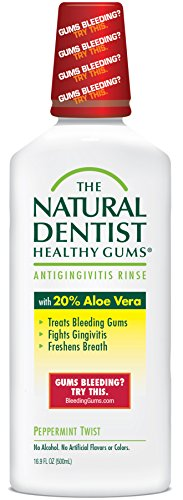 The Natural Dentist Healthy Gums Antigingivitis Mouthwash to Prevent...