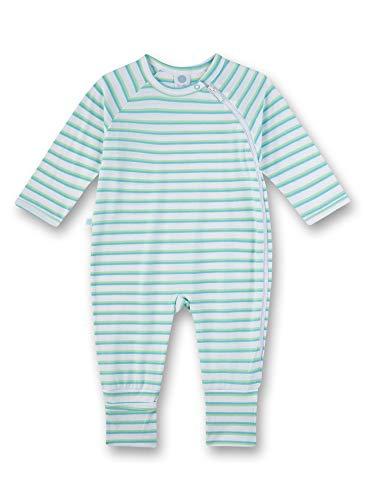 Sanetta Baby-Jungen Overall Strampler, Weiß (White 10), 86 (Herstellergröße: 086)