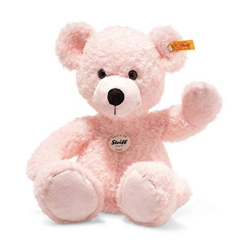 Steiff 113826 Teddybär, rosa, 40 cm
