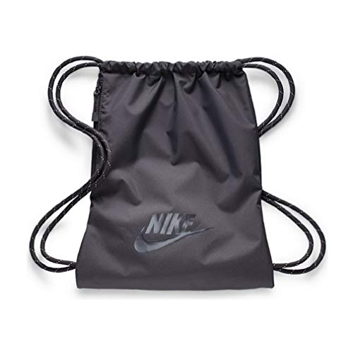 Nike Heritage 2.0 Gymbag Gymsack Turnbeutel (Grey/Grey, one Size)