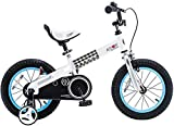 RoyalBaby CubeTube Kid's Bikes, Gifts for Boys & Girls, Buttons Bike, 12 14