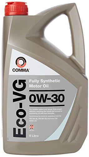 Comma ECOVG5L Eco-VG 0W30 volledig synthetische motorolie 5 liter