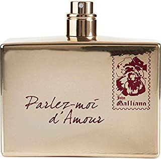 John Galliano Parlez-Moi d'Amour Gold Edition EDT 2.6oz 80ml New Unboxed without Cap