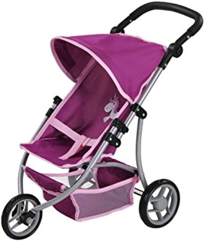 Knorrtoys 16572 knoortoys Doll Carriage Jogger LioUma.The Unicorn Purple, Multi color