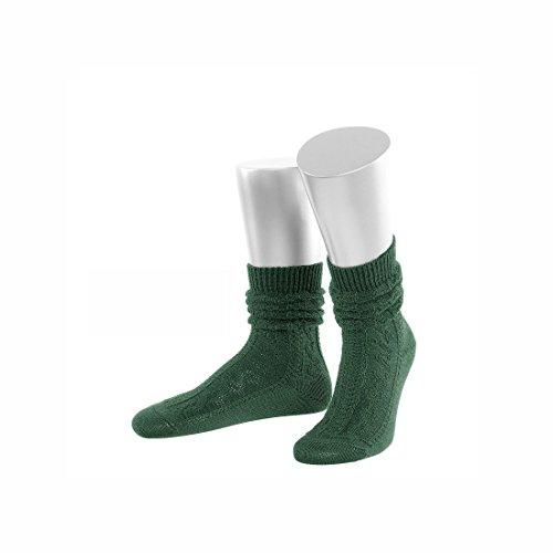 JD Trachtensocken aus Merino-Schurwolle, trachtengrün, Größe 42/44