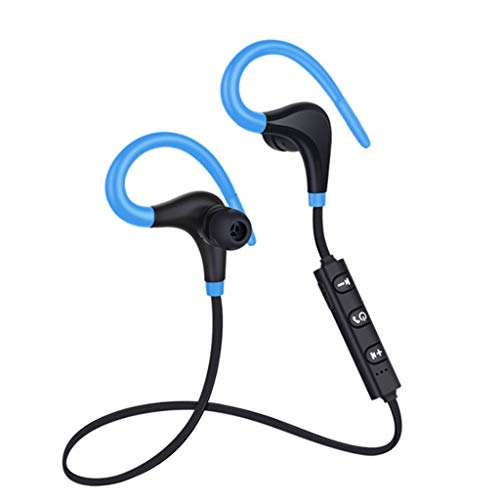 Togethor Wireless Earbud Bluetooth Headset in-Ear Mini Invisible Business Headphone with Magnetic USB Charging with Mic Sweatproof Sport Earphone