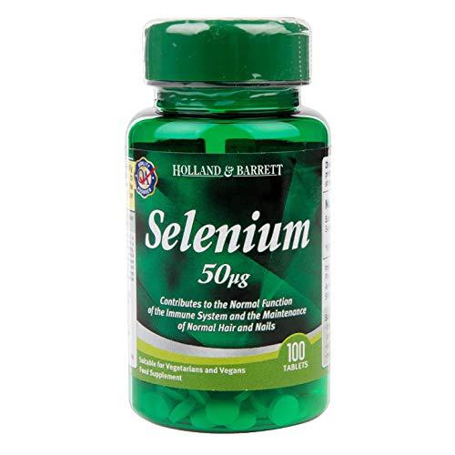 Holland & Barrett Selenium, 50ug, 100 Tablets