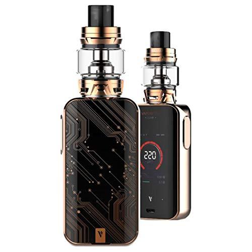Vaporesso Luxe-S Kit ,Cigarrillo Electrónico Vaping Kit 220W Box Mod Atomizador SKRR 8ml Tank E-Cig Vapor - Sin Nicotina y Sin E-líquido (Bronce)
