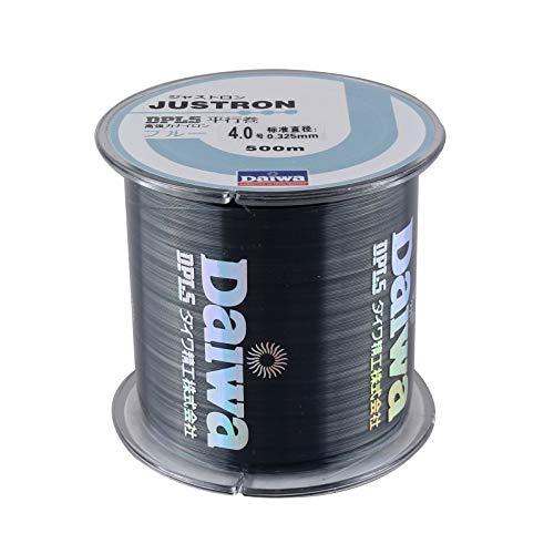 ChenTAOCS vislijn, 100 m en 500 m, nylon, Super Strong monofilament 2-35 lB, kwaliteit Japans materiaal, zout water, karpervissen (kleur: Black500M, Line-nummer: 0,265 mm, 10 lb)