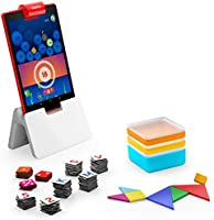 Osmo - Genius Starter Kit for Fire Tablet - 5 Educational Learning Games - Ages 6-10 - Spelling, Math, Creativity & More...