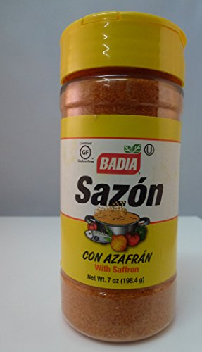 Badia Sazon With Saffron, 7 Oz