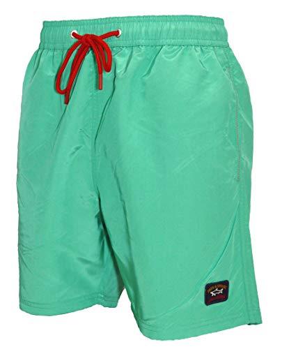 Paul & Shark C0P5001 - Bañador para hombre, color verde (061) Verde verde XXL