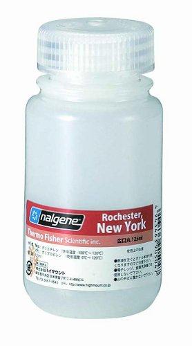 nalgene(ナルゲン) 広口丸形ボトル 125ml 90504