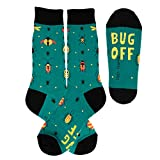 Foot Traffic Bug Off Socks, for When You Just Want to be Left Alone