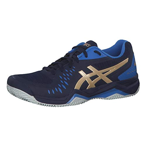 ASICS Gel-Challenger 12 Clay, Chaussure de Tennis Homme, Peacoat Champagne, 43.5 EU