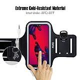 Recensione Fascia da Braccio Portacellulare per Correre, EOTW Porta Cellulare Braccio per iPhone 12/12 Pro/11/11 Pro Max/XR, Huawei P40/30, Samsung S20/S10 Porta Smartphone Fascia Running (Per 5  -6.7  )