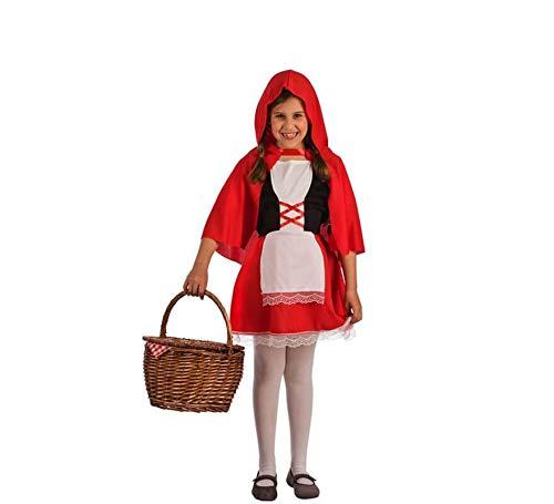 El Rey del Carnaval Disfraz de Caperucita Roja para niña