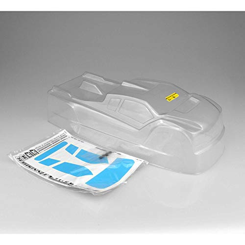 J Concepts Inc. 1/8 Finnisher Clear Body: HB Racing D817T, JCO0366