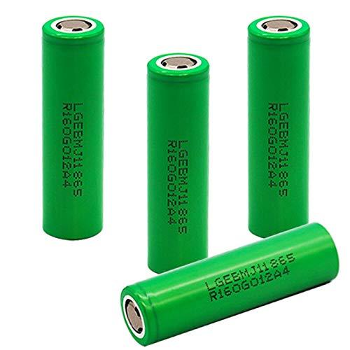 3.7V 3500mah inr18650 MJ1 batería Recargable inr18650 MJ1 10A Descarga para LG MJ1 batería de Litio 4PCSBattery