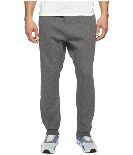 Nike NSW Fleece Club Joggers Men's Fleece Pants (Medium, Dark Grey/White)