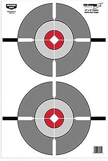 Birchwood Casey Eze-Scorer 12 x 18 Double Bull's-Eye Target - 100 Sheet Pack