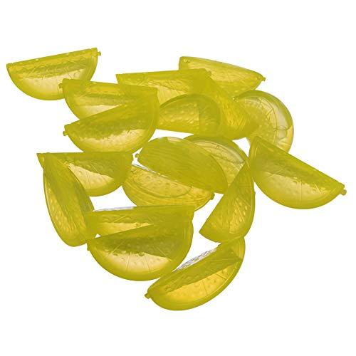 ORION Eiswürfel bunt Kunststoff, Form für Eis, für Eiswürfel 20 St. wiederverwendbar Cube Würfel Zitronen
