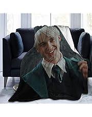 Ultramjuk flanell fleecefilt Draco-Malfoy snyggt sovrum vardagsrum soffa varm filt 50 x 40 tum