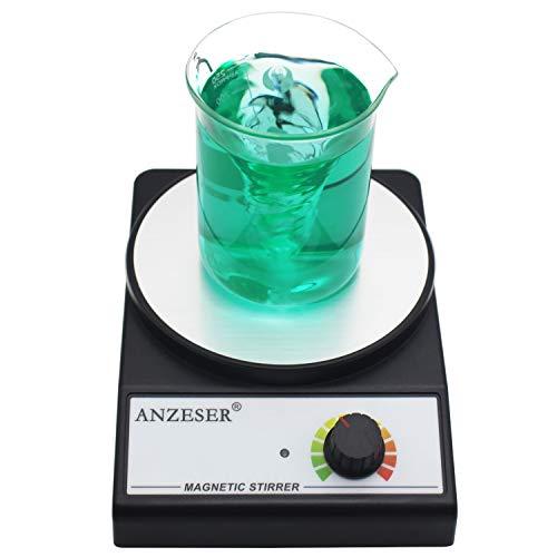 ANZESER Agitatore Magnetico 3500 RPM con Agitatore Max Capacità di Agitazione 3000ml