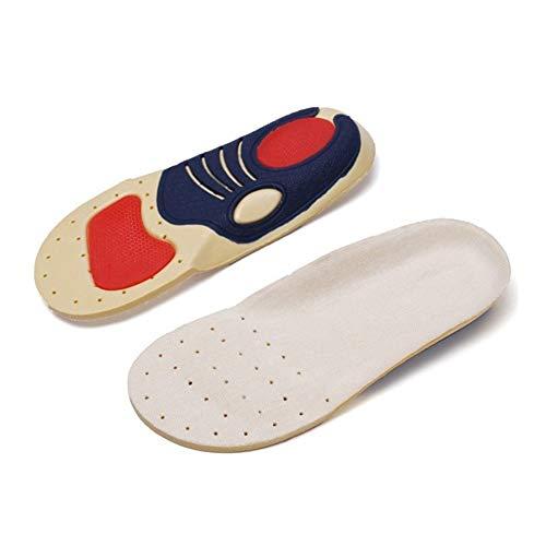 Plantillas Para Zapatos Desodorante Suela 1 par de niños de los niños Ortesis la ayuda de arco plantillas Breathalbe deporte las zapatillas de running cojín de fibra de soja Cuidado de pies de