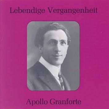 Lebendige Vergangenheit - Apollo Granforte