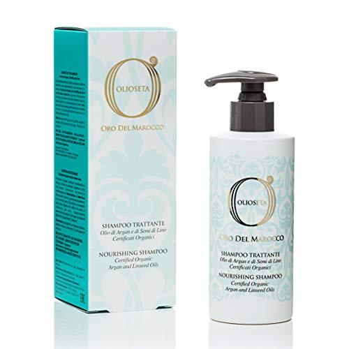 BAREX | Oro del Marocco Shampoo Trattante | Formula Delicata per capelli colorati, secchi e sfibrati | Azione idratante e nutriente per tutti i tipi di capelli | 250ml