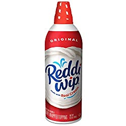 Reddi - wip Original Whipped Dairy Cream Topping, Keto Friendly, 6.5 oz.