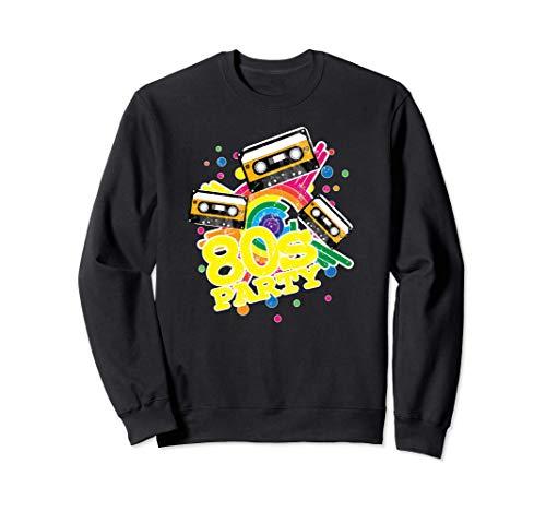 80s Party Cassettes Sweatshirt, Unisex, S to 2XL